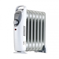 Homeleader Oil Filled Radiator Heater, Overheating Protection, Portable Compact Mini Heater for Home and Office, Space Heater with Thermostat Control,