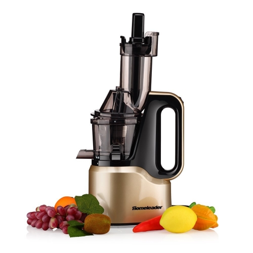 Slow Masticating Juicer, Juice Extractor, 150W, Champagne