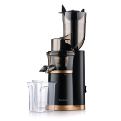 Masticating Slow Juicer Extractor by Homeleader, 3.5inch Wide Chute Juice Extractor, Cold Press Juicer Machine with Quiet Motor and Reverse Function,