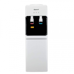 AQUAWELL Water Dispenser, Compression Refrigeration Technology, Top Loading Hot & Cold Water Dispenser, Freestanding with Storage Cabinet